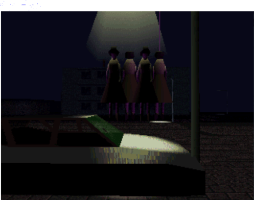 LSD: Dream Emulator hanged women