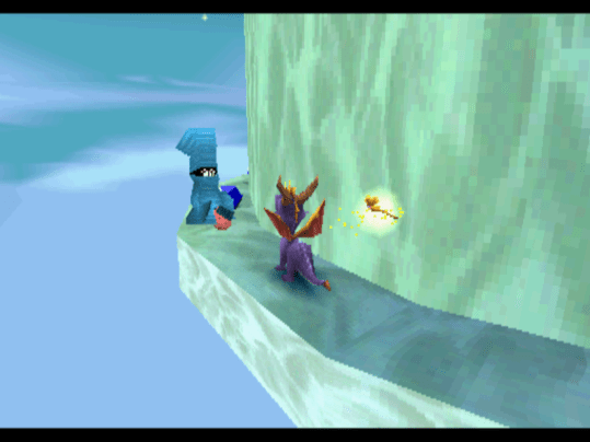Spyro the Dragon blue thief
