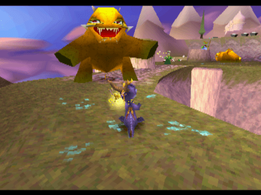 Spyro the Dragon psx ps1