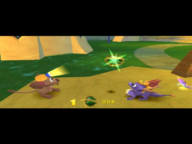 Spyro 2: Ripto's Rage (Gateway to Glimmer) gameplay Glimmer orb