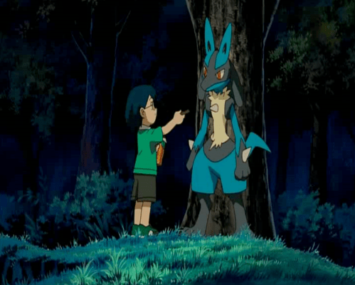 Pokemon: Lucario and the Mystery of Mew Max and Lucario
