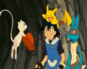 Pokemon: Lucario and the Mystery of Mew Mew Ash Pikachu Lucario