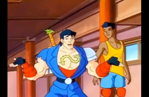Double Dragon: The Animated Series Billy Lee and Michael