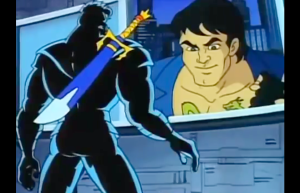 Double Dragon: The Animated Series Shadow Boss and Billy Lee