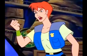 Double Dragon: The Animated Series Marian