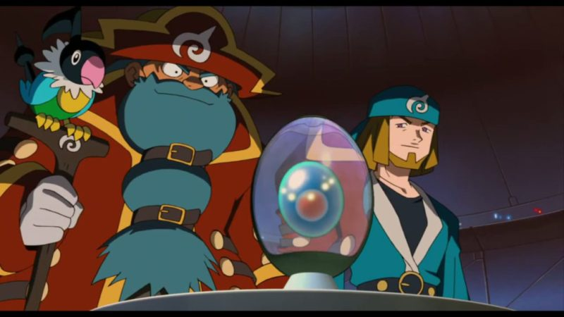 Pokémon Ranger and the Temple of the Sea Phantom and Galen