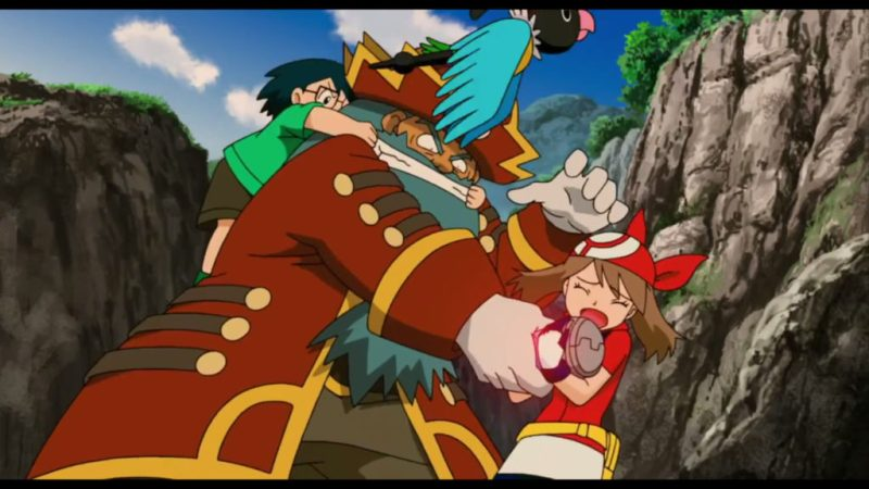 Pokémon Ranger and the Temple of the Sea May and Max fights the Phantom