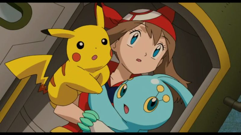 Pokémon Ranger and the Temple of the Sea May, Manaphy, Pikachu