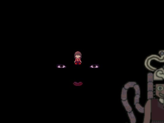 Yume Nikki Eyeball World face