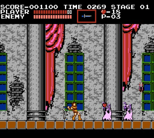 Castlevania NES gameplay