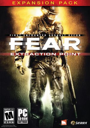 F.E.A.R. First Encounter Assault Recon: Extraction Point game cover