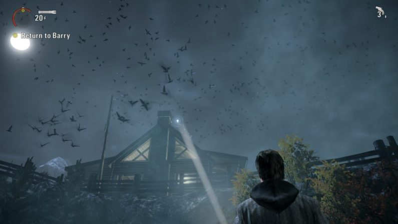 Alan Wake Taken birds