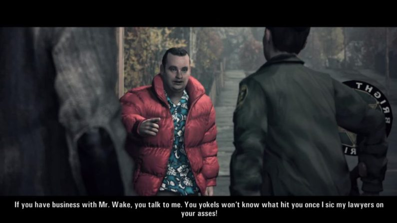 Alan Wake Barry Wheeler