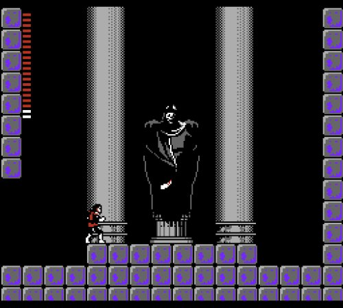Castlevania II: Simon's Quest gameplay Dracula boss