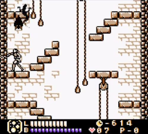 Castlevania Legends gameplay