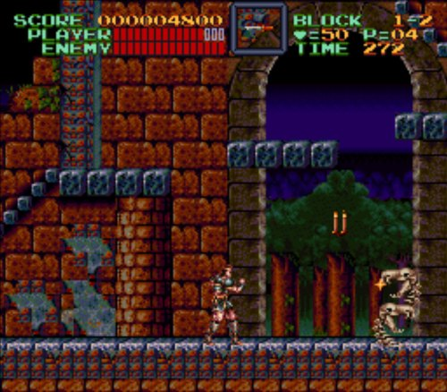 Super Castlevania IV gameplay