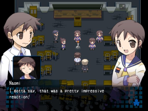 Corpse Party PC gameplay