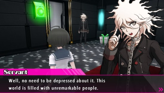 Danganronpa Another Episode: Ultra Despair Girls Nagito Komaeda