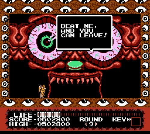 Monster Party NES final boss