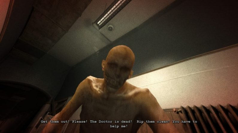 Outlast gameplay