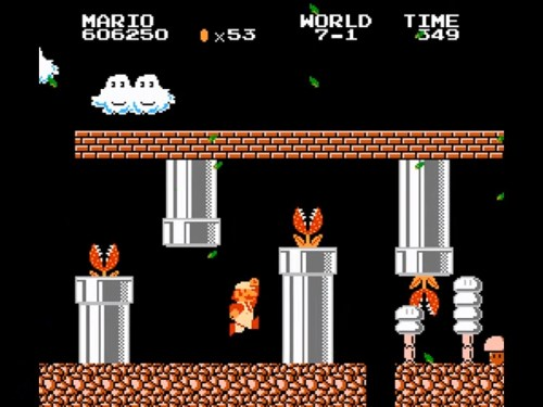 Super Mario Bros: The Lost Levels gameplay