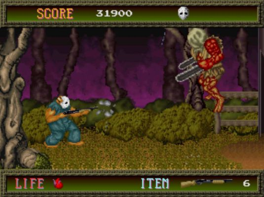 Splatterhouse arcade Biggy Man