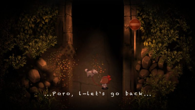Yomawari: Night Alone gameplay