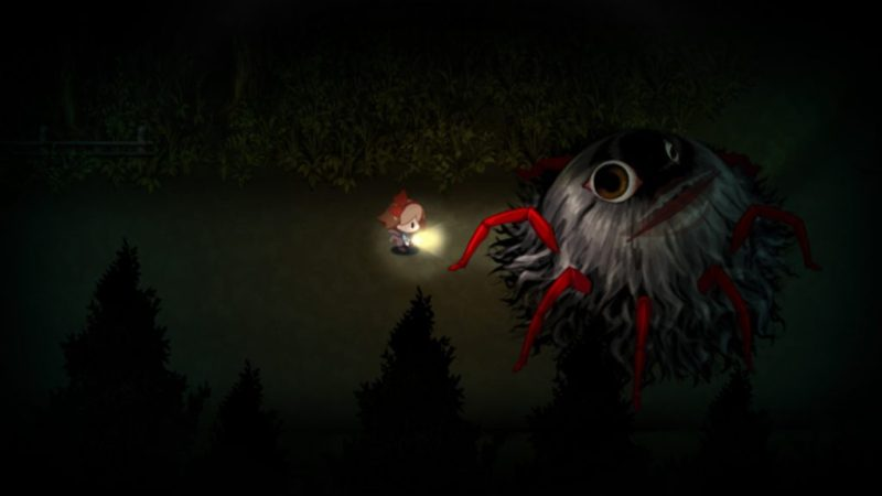 Yomawari: Night Alone gameplay roadblocker