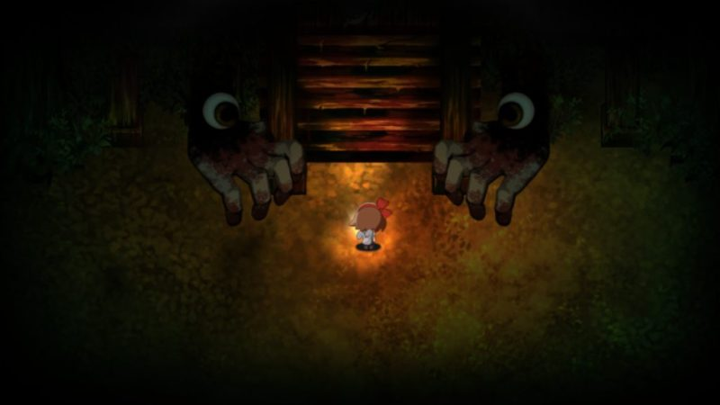 Yomawari: Night Alone gameplay blind spirit