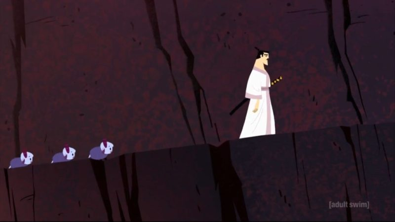 Samurai Jack season 5 mountain goats