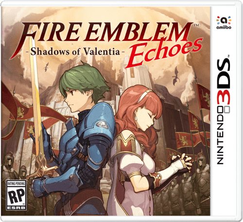 Fire Emblem Echoes: Shadows of Valentia 3DS cover art