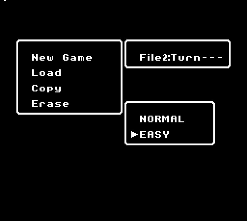 Fire Emblem Gaiden Famicom Easy mode