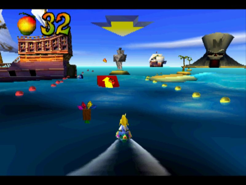 Crash Bandicoot 3: Warped Makin' Waves gameplay