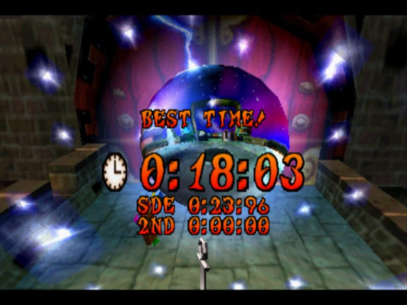 Crash Bandicoot 3: Warped platinum Relic