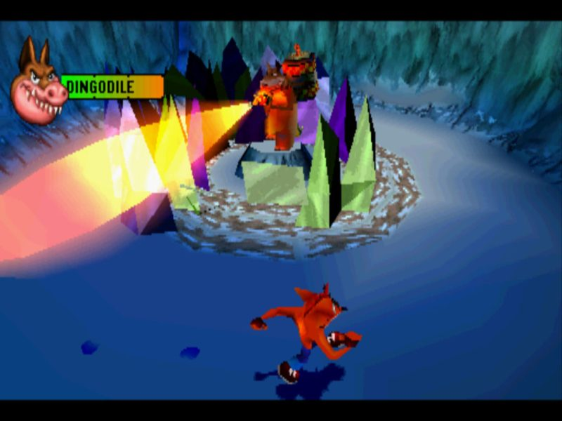 Crash Bandicoot 3: Warped Dingodile