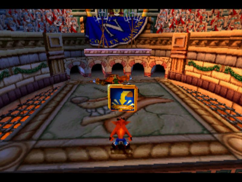 Crash Bandicoot 3: Warped Super Charged Body Slam