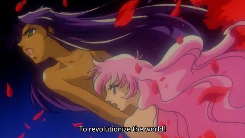 Adolescence of Utena movie nude Utena Tenjou and Anthy Himemiya