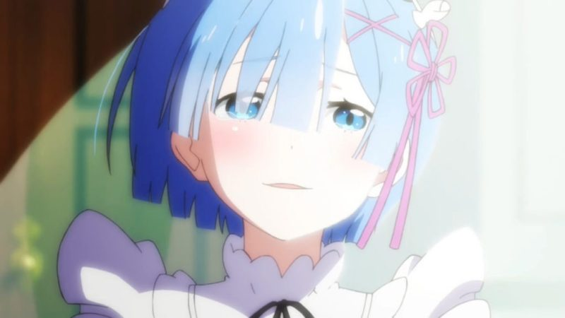 Re:Zero − Starting Life in Another World Rem smiles