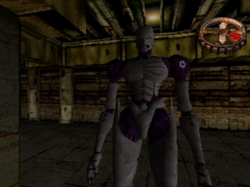 Hellnight PS1 Hybrid monster
