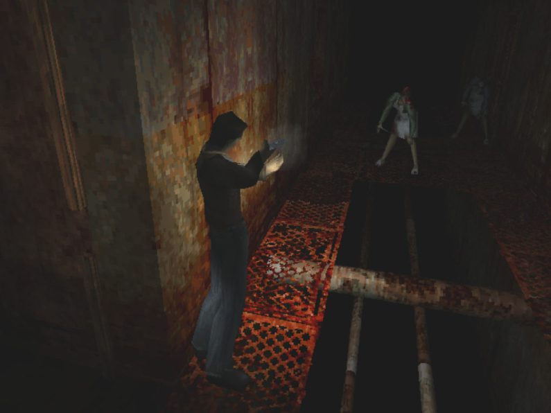 Silent Hill PS1 gameplay