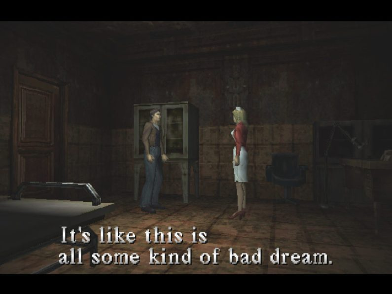 Silent Hill Harry Mason and Lisa Garland