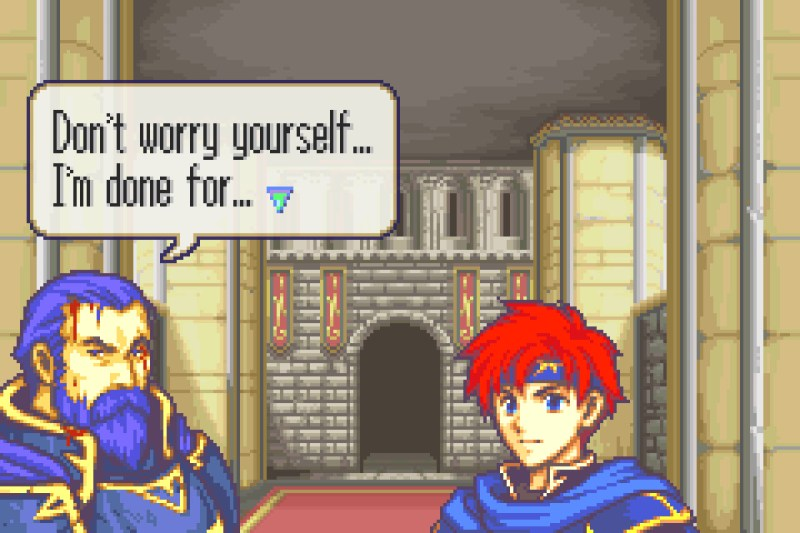 Fire Emblem: The Binding Blade Hector's death