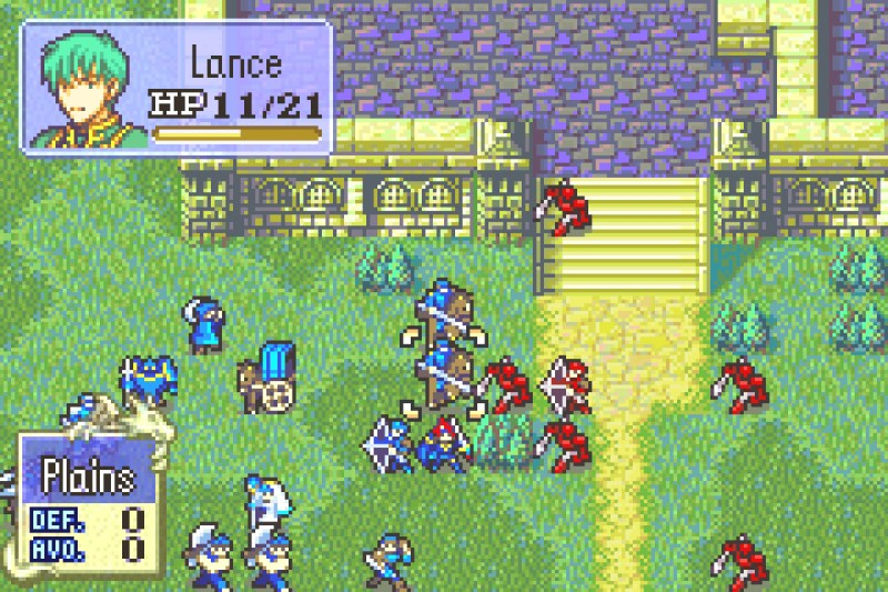 Fire Emblem: The Binding Blade gameplay