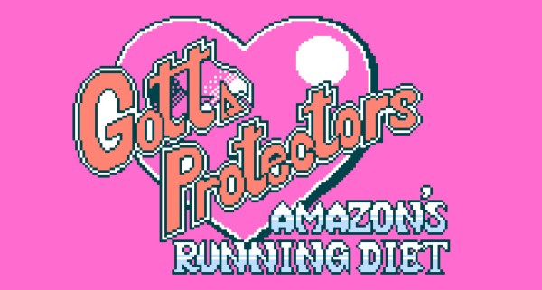 Gotta Protectors: Amazon's Running Diet title screen