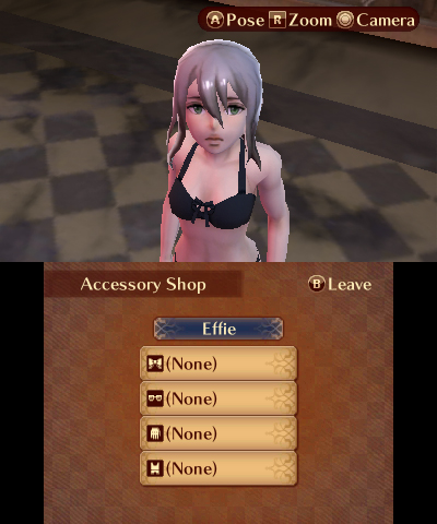 Fire Emblem Fates: Conquest Effie in underwear