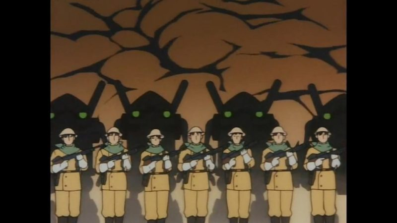 Now and Then, Here and There anime child soldiers