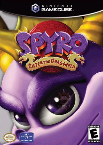 Spyro: Enter the Dragonfly game cover art