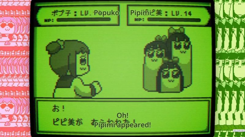 Pop Team Epic anime Pokemon Pipimi Dugtrio