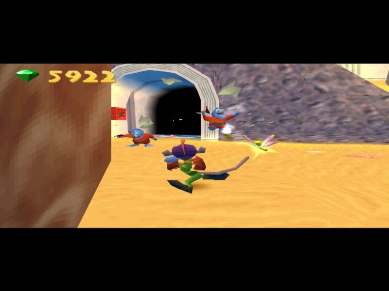 Spyro: Year of the Dragon PS1 gameplay Agent 9's Lab
