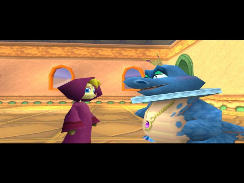 Spyro: Year of the Dragon PS1 Bianca and the Sorceress